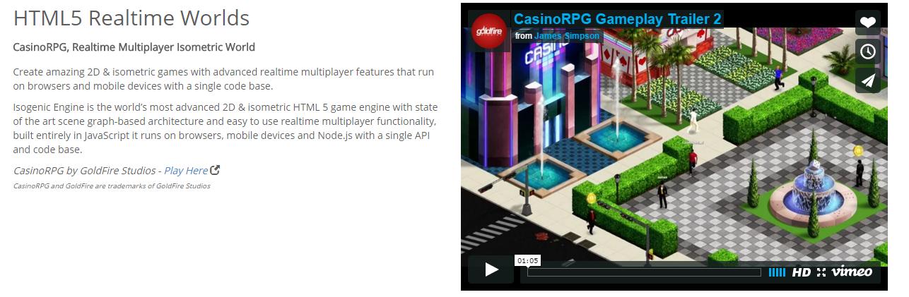 Isogenic Game Engine | HTML5 Game Development