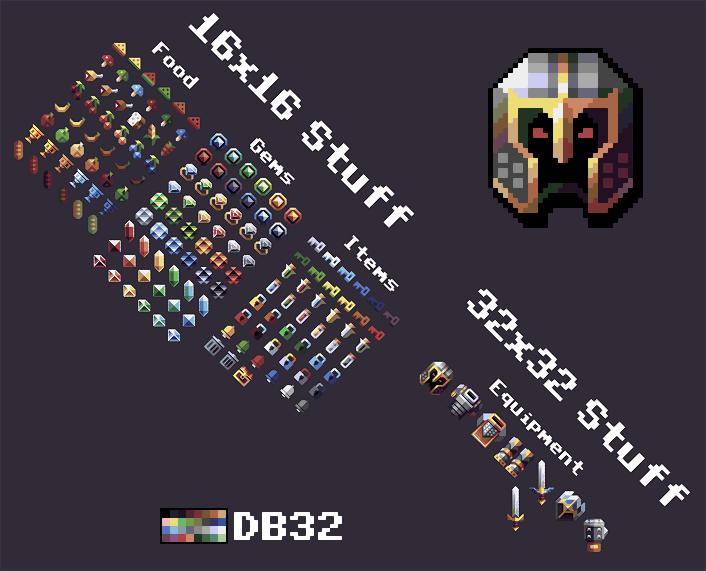RPG assets kronbits