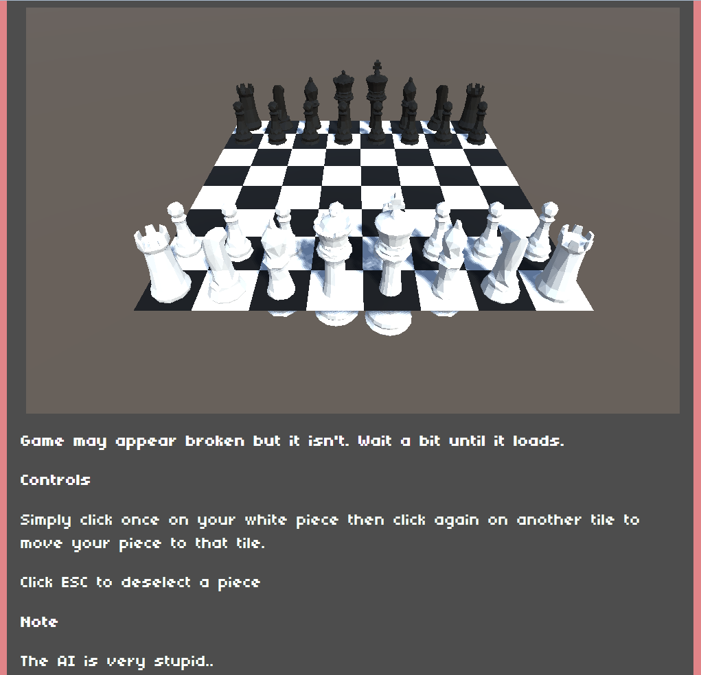 Stupid Chess