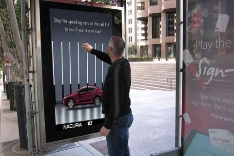 digital signage games