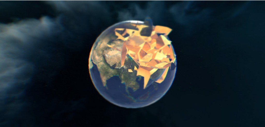 Break the World in WebGL
