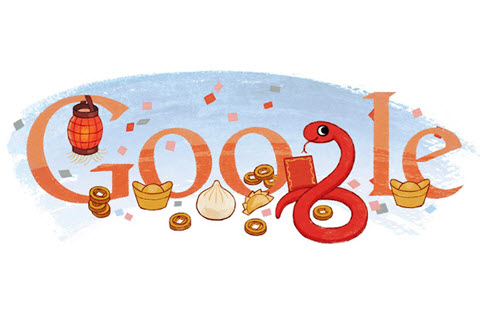Google doodle chinese new year 2013-1