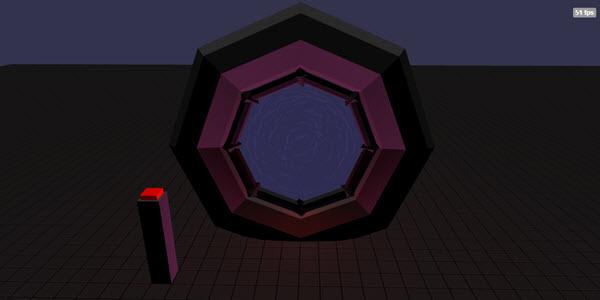 BabylonJS Stargate Demo open