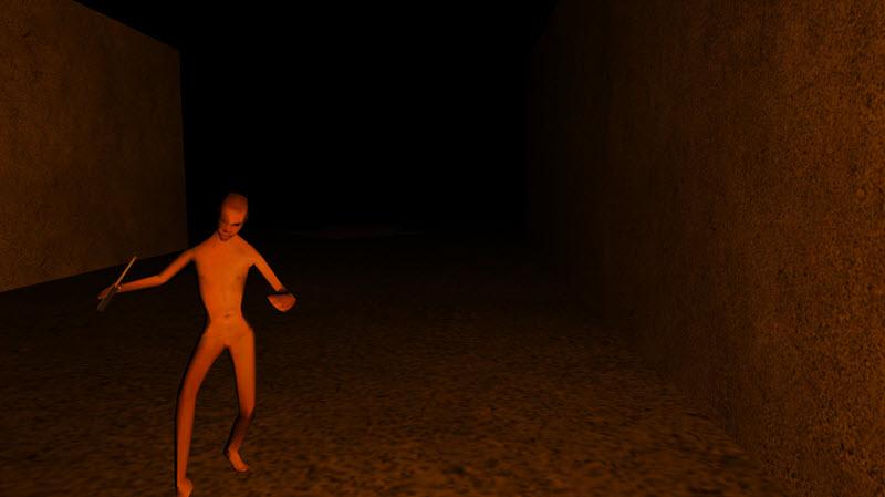 Death Maze WebGL BabylonJS HTML5 game monster
