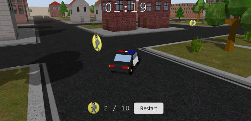 Fast Burglars HTML5 Threejs indie game