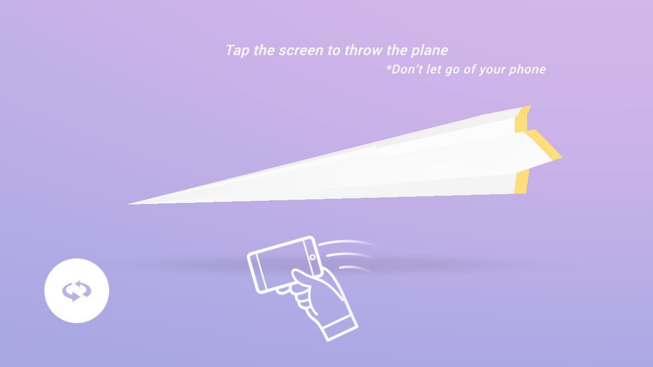 Paper Planes HTML5 game development throw