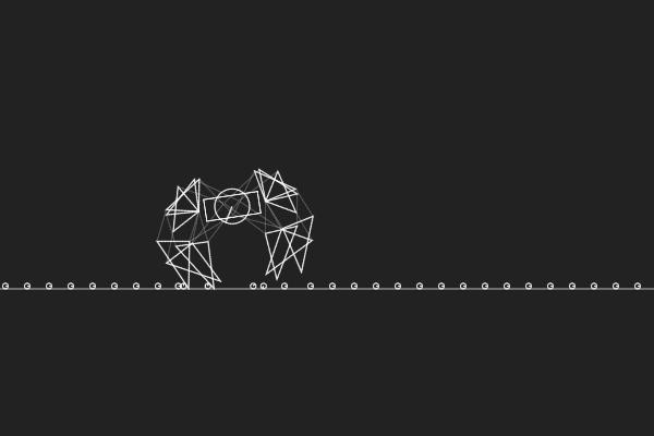 Planck.js demos - Theo Jansen