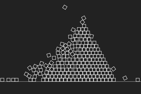 Planck.js demos - Pyramid