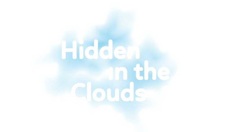 Hidden in the Clouds title