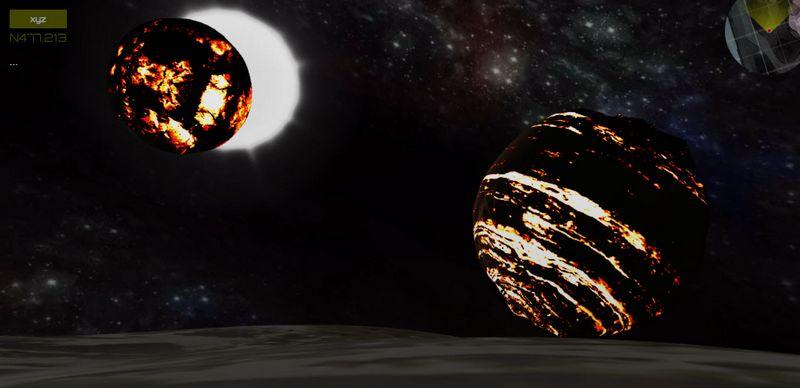 Wexha Planet demo HTML5 WebGL BabylonJS