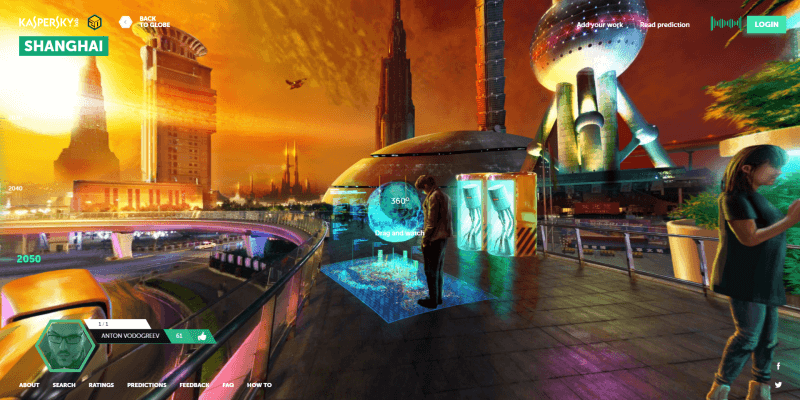 Earth 2050 - Shanghai