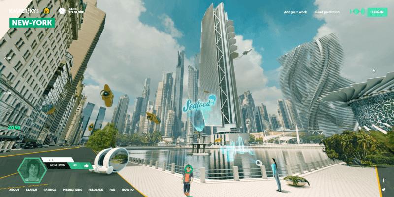 Earth 2050 - New York
