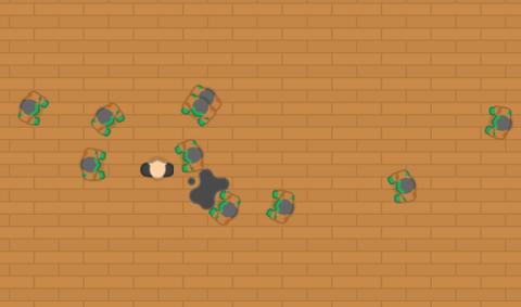 Defold Engine Zombie AI