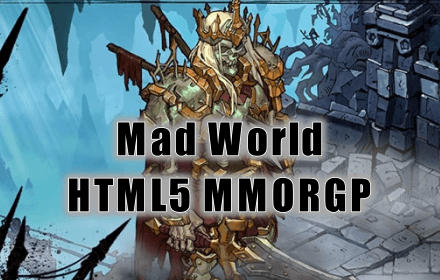 Mad World MMORPG HTML5 game - feature