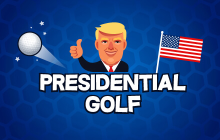 Presidential golf HTML5 game