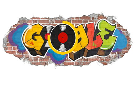 44th Anniversary of the Birth of Hip Hop interactive google doodle featured