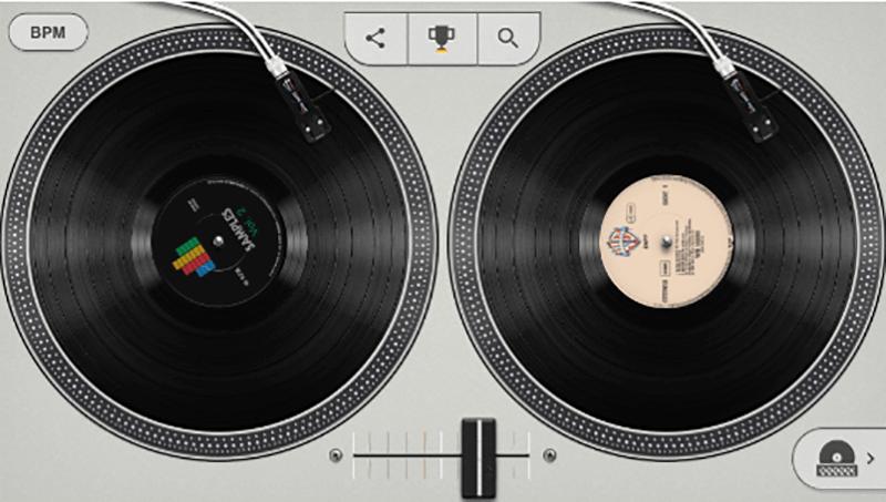 Hip Hop Interactive Google Doodle