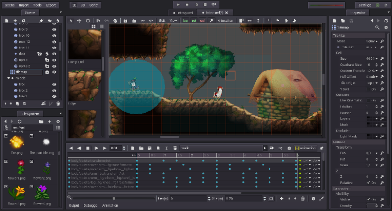 Godot Game Engine for 2D and 3D | HTML5 Game Development