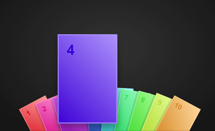 Hearthstone hover effect rainbow cards