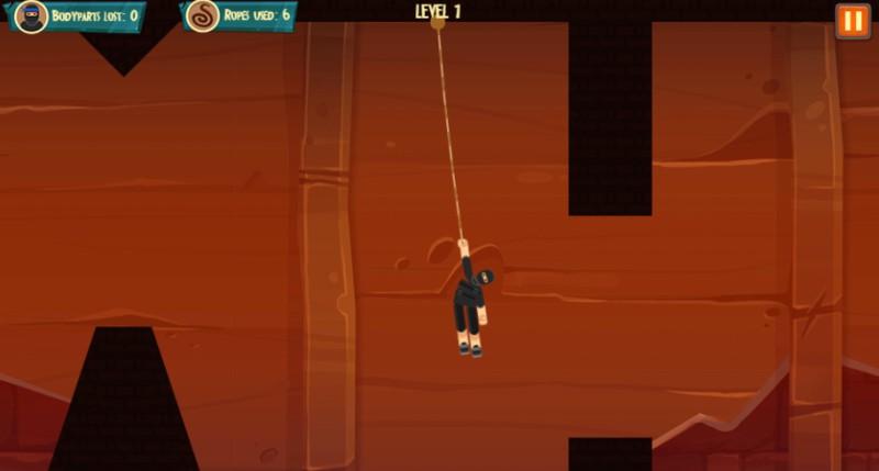 Ultimate Ninja Swing HTML5 Game