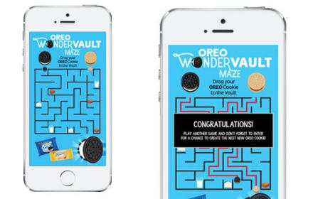 Oreo wondervault bespoke game