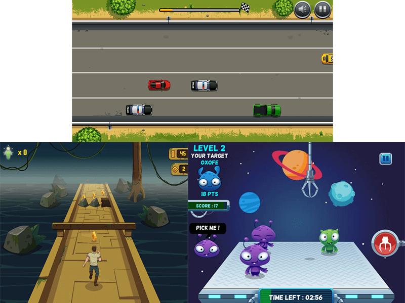 Action genre - screenshot