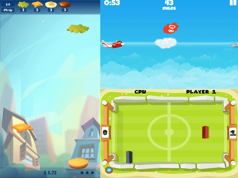 Arcade genre - screenshot