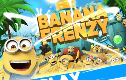 Bespoke Banana Frenzy Game