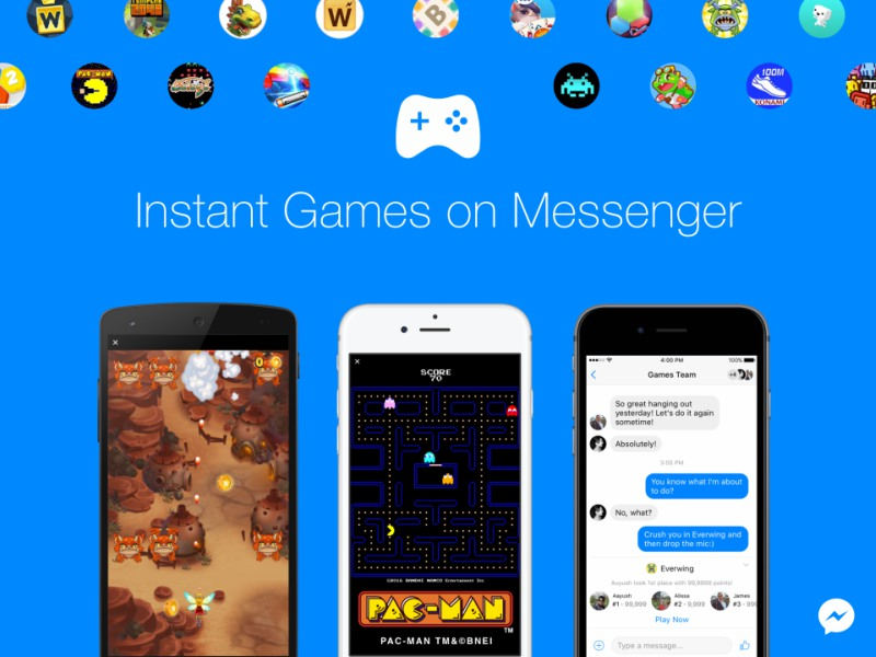 Instant Messenger Game