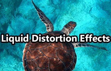 Liquid Distortion Effect Featured