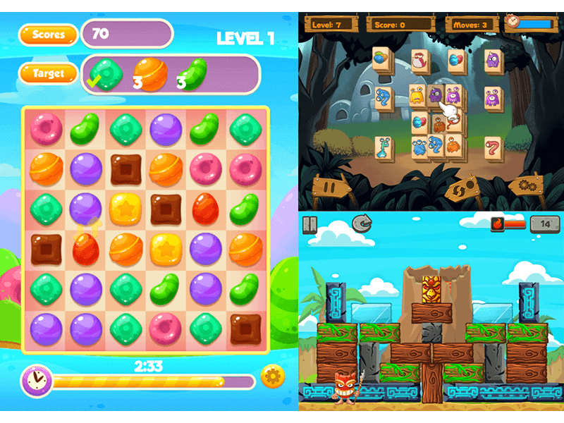 Puzzle genre - screenshot