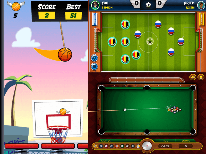 Sports genre - screenshot