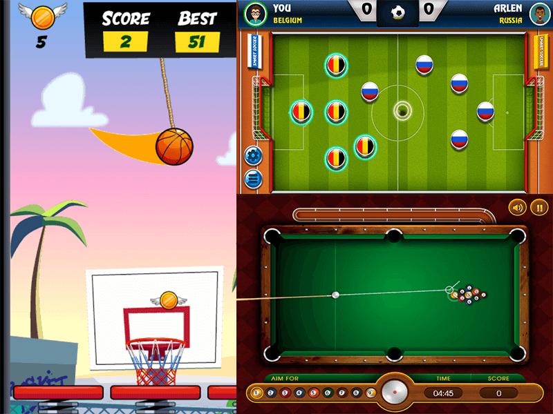 Sports genre - screenshot