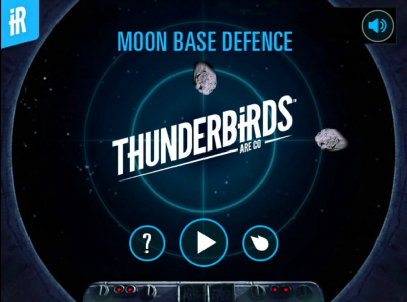 Thunderbirds Moon Base Defense Game