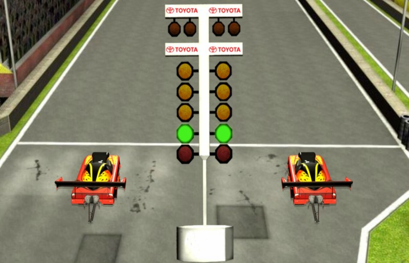 Toyota NHRA Game