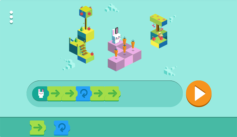 Google Doodle Celebrating 50 years of Kids Coding
