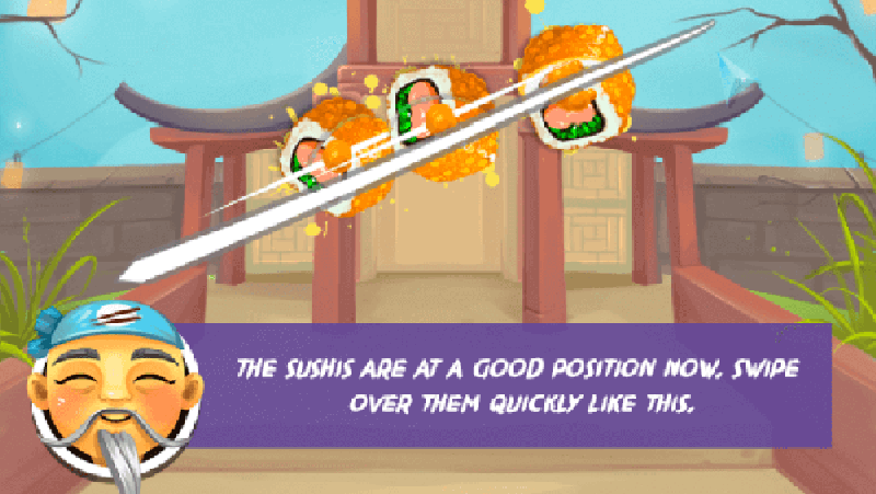 HTML5 Games for Loyalty Rewards at Livetribe Sushi Sensei