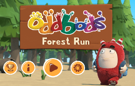 Oddbods Forest Run featured
