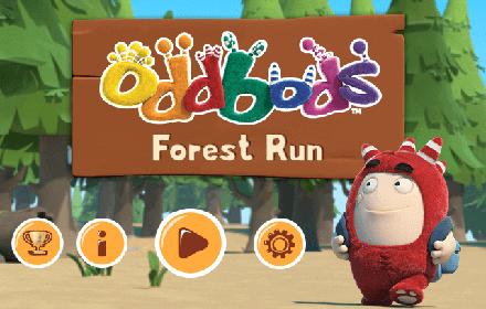 Oddbods Forest Run featured