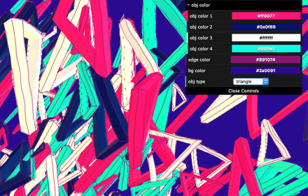 Rough Drawing Effect controls