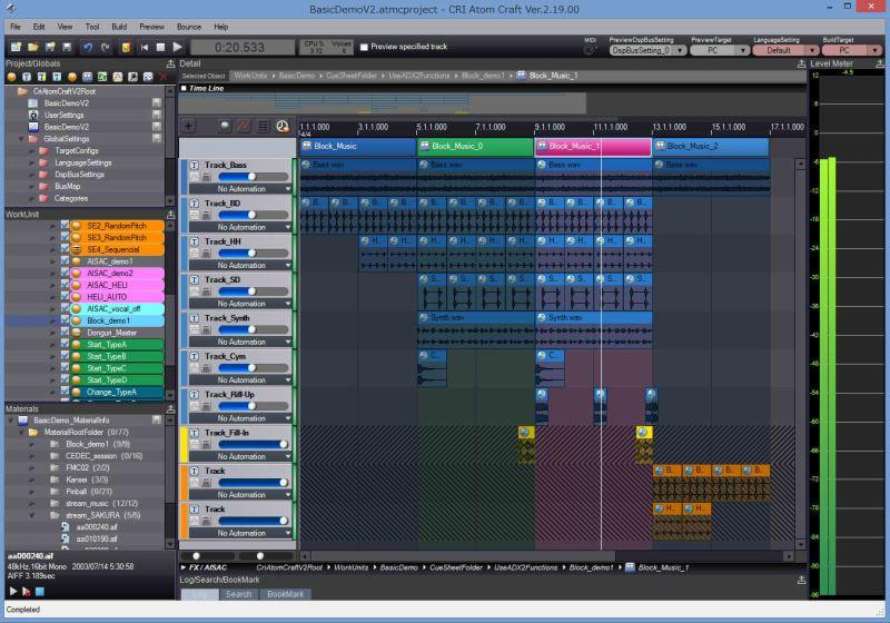ADX2 Audio Middleware