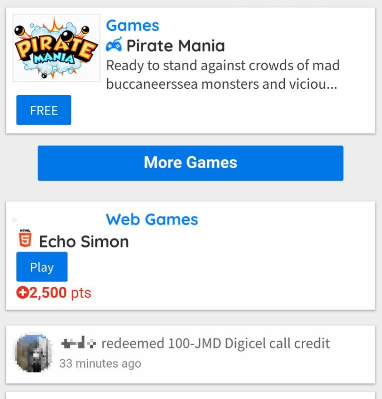 Digicel HTML5 Games Portal