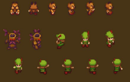Tiny RPG Forest Assets Pack