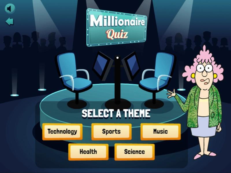 Auntie Acid Millionaire Quiz