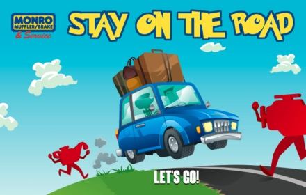 stay on the road