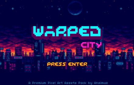 warped city art kit