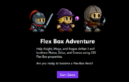 Building Games with Flexbox Banner