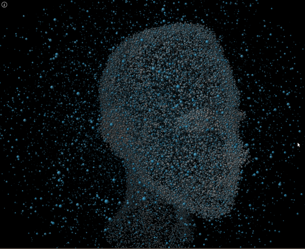 WebGL Particle Morph | HTML5 Game Development