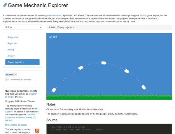 Game Mechanics Explorer