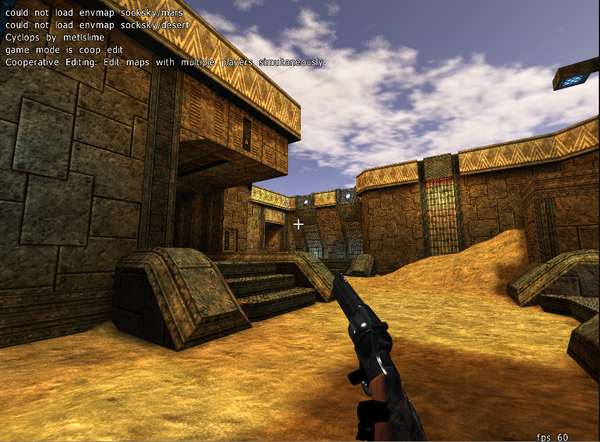 Cube 2 Sauerbraten ported to WebGL with Mandreel | HTML5